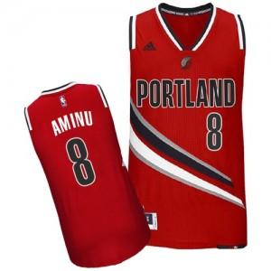 Camisetas Baloncesto Hombre NBA Portland Trail Blazers Alternate Swingman Al-Farouq Aminu #8 Rojo