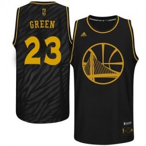 Camiseta NBA Authentic Draymond Green #23 Precious Metals Fashion Negro - Golden State Warriors - Hombre