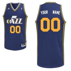 Utah Jazz Adidas Road Azul marino Camiseta de la NBA - Swingman Personalizadas - Hombre