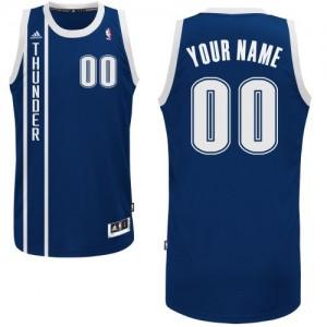 Oklahoma City Thunder Adidas Alternate Azul marino Camiseta de la NBA - Swingman Personalizadas - Hombre