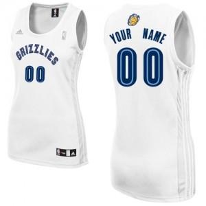 Camisetas Baloncesto Mujer NBA Memphis Grizzlies Home Swingman Personalizadas Blanco