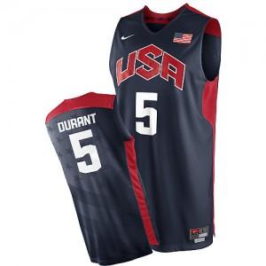 Team USA Nike 2012 Olympics Azul marino Swingman Camiseta de la NBA - Kevin Durant #5 - Hombre