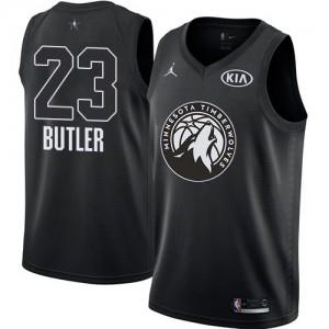 Camiseta Jordan Swingman Jimmy Butler #23 2018 All-Star Game Negro - Minnesota Timberwolves - Niño