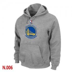 Golden State Warriors Gris Sudadera de la NBA - Hombre
