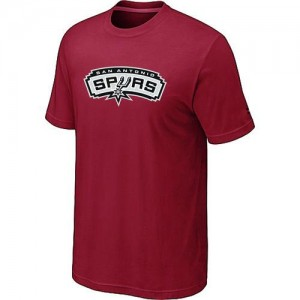 T-Shirts NBA San Antonio Spurs Big & Tall Rojo - Hombre