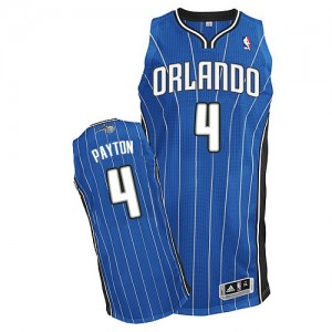 Camiseta NBA Road Orlando Magic Azul real Authentic - Hombre - #4 Elfrid Payton