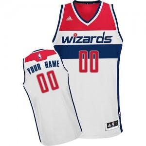 Camiseta NBA Home Washington Wizards Blanco - Hombre - Personalizadas Swingman
