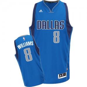 Dallas Mavericks Adidas Road Azul real Swingman Camiseta de la NBA - Deron Williams #8 - Hombre