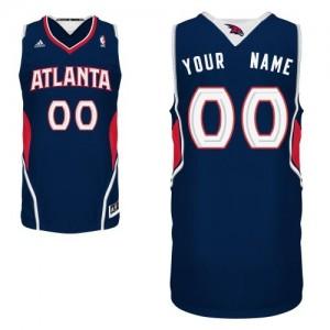 Camiseta NBA Swingman Personalizadas Road Azul marino - Atlanta Hawks - Hombre