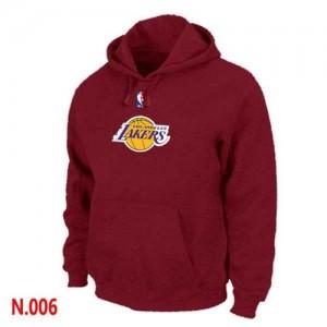 Los Angeles Lakers Rojo Sudadera de la NBA - Hombre