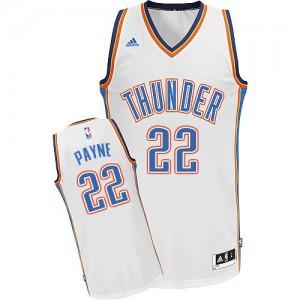 Camiseta Swingman Cameron Payne #22 Oklahoma City Thunder Home Blanco - Hombre