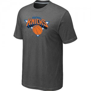 T-Shirts New York Knicks Big & Tall Gris oscuro - Hombre