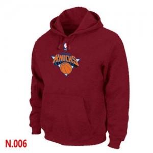 Sudadera NBA New York Knicks Rojo - Hombre