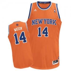 Camiseta NBA Swingman Anthony Mason #14 Alternate naranja - New York Knicks - Hombre