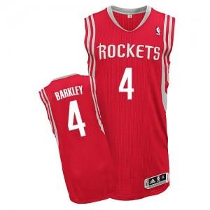 Camisetas Baloncesto Hombre NBA Houston Rockets Road Authentic Charles Barkley #4 Rojo