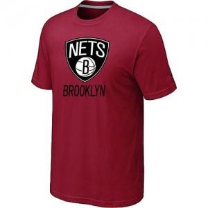 T-Shirts NBA Big & Tall Brooklyn Nets Rojo - Hombre