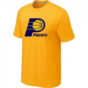 T-Shirts Indiana Pacers Big & Tall Amarillo - Hombre