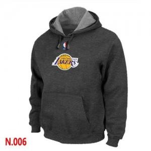 Los Angeles Lakers Gris oscuro Sudadera de la NBA - Hombre