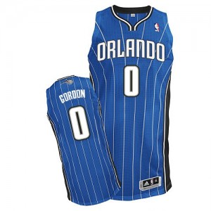 Camiseta NBA Orlando Magic Aaron Gordon #0 Road Adidas Azul real Authentic - Hombre