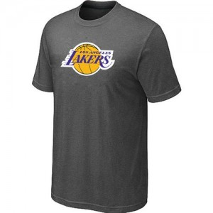 T-Shirts NBA Big & Tall Gris oscuro - Los Angeles Lakers - Hombre