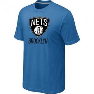 T-Shirts NBA Big & Tall Brooklyn Nets Azul claro - Hombre