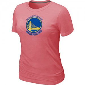 T-Shirts Golden State Warriors Big & Tall Rosado - Mujer