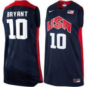 Camiseta Kobe Bryant USA Basketball 2012 Azul marino