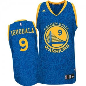 Camisetas Baloncesto Hombre NBA Golden State Warriors Crazy Light Authentic Andre Iguodala #9 Azul
