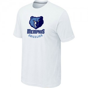 T-Shirts NBA Big & Tall Blanco - Memphis Grizzlies - Hombre