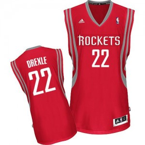 Camiseta Swingman Clyde Drexler #22 Houston Rockets Road Rojo - Hombre