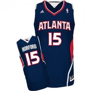 Camiseta NBA Road Atlanta Hawks Azul marino Swingman - Hombre - #15 Al Horford