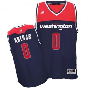 Camiseta NBA Alternate Washington Wizards Azul marino Authentic - Hombre - #0 Gilbert Arenas