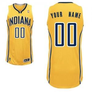 Camiseta NBA Alternate Indiana Pacers Oro - Hombre - Personalizadas Authentic