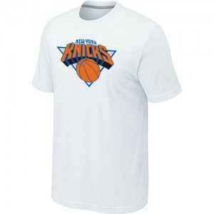 T-Shirts NBA Big & Tall Blanco - New York Knicks - Hombre
