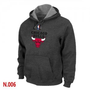 Chicago Bulls Negro Sudadera de la NBA - Hombre