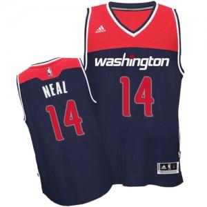 Camiseta NBA Alternate Washington Wizards Azul marino Authentic - Hombre - #14 Gary Neal