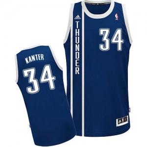 Camiseta NBA Swingman Enes Kanter #34 Alternate Azul marino - Oklahoma City Thunder - Hombre