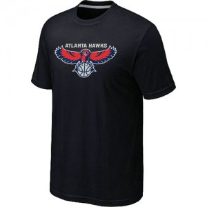 T-Shirts NBA Big & Tall Atlanta Hawks Negro - Hombre