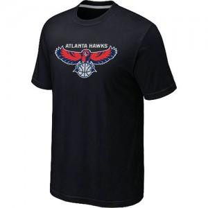 T-Shirts NBA Big & Tall Atlanta Hawks Negro - Hombre