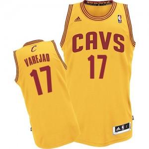 Camiseta NBA Alternate Cleveland Cavaliers Oro Swingman - Hombre - #17 Anderson Varejao