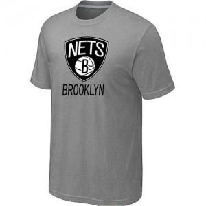 T-Shirts NBA Big & Tall Brooklyn Nets Gris - Hombre
