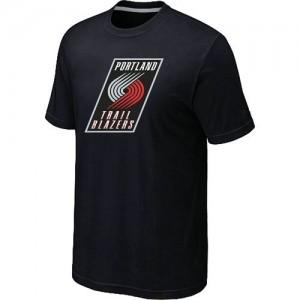 T-Shirts NBA Portland Trail Blazers Big & Tall Negro - Hombre