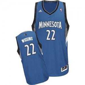 Minnesota Timberwolves Adidas Road Azul pizarra Swingman Camiseta de la NBA - Andrew Wiggins #22 - Hombre