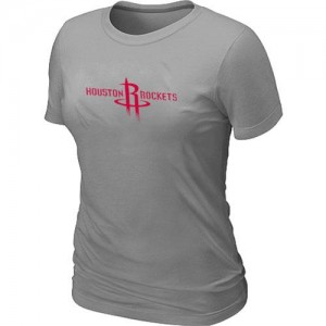 T-Shirts Houston Rockets Big & Tall Gris - Mujer