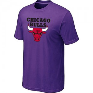 T-Shirt Hombre NBA Chicago Bulls Big & Tall Púrpura