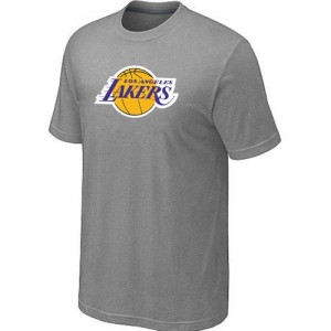 T-Shirts NBA Big & Tall Gris - Los Angeles Lakers - Hombre