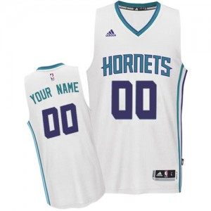 Camiseta Swingman Personalizadas Charlotte Hornets Home Blanco - Mujer