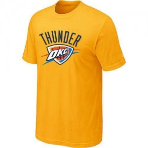 T-Shirts NBA Oklahoma City Thunder Big & Tall Amarillo - Hombre