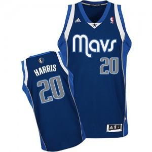 Dallas Mavericks Adidas Alternate Azul marino Swingman Camiseta de la NBA - Devin Harris #20 - Hombre
