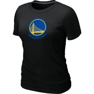 T-Shirts Golden State Warriors Big & Tall Negro - Mujer